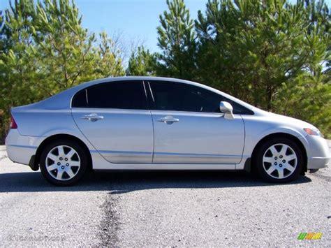 2007 Honda Civic by Alabaster Silver Metallic 2007 Honda Civic Lx Sedan