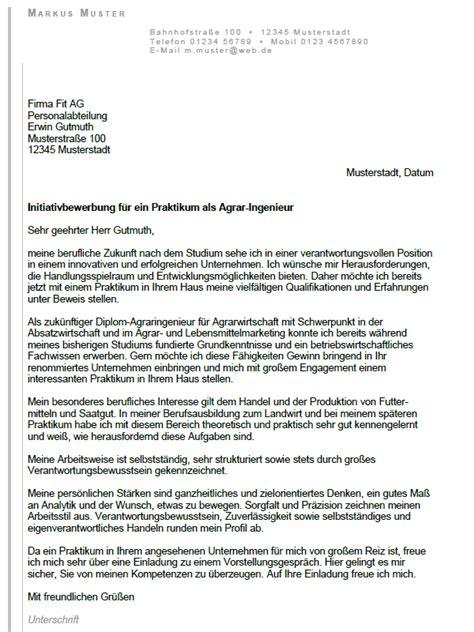 Bewerbung Anschreiben Einleitung Ingenieur Bewerbung Diplom Agrar Ingenieur Praktikum Sofort