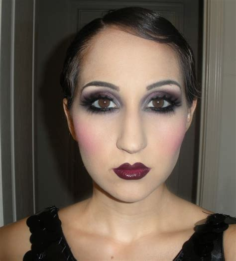 tutorial makeup artist lc makeup artist 1920s makeup fotd and tutorial 20 s