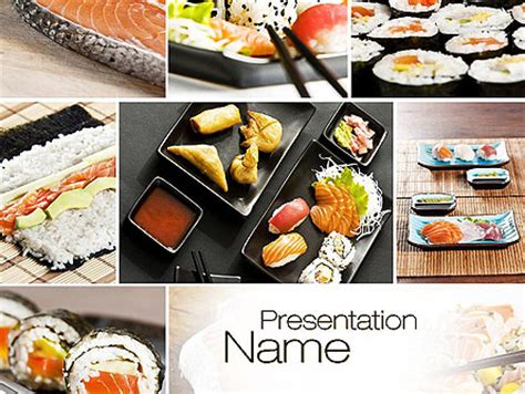 Sushi Collage Powerpoint Template Backgrounds 10675 Powerpoint Photo Collage Template