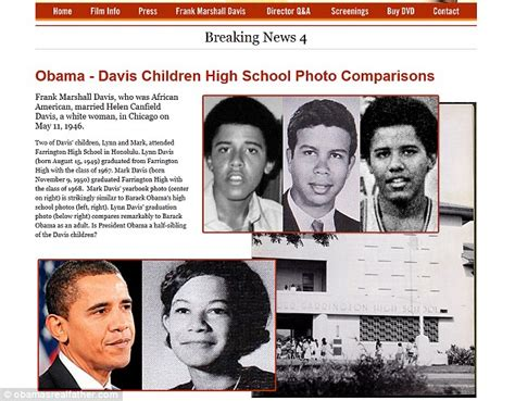 Statement From Marshall Family by Probes Obama S Ties Really To Communist Frank