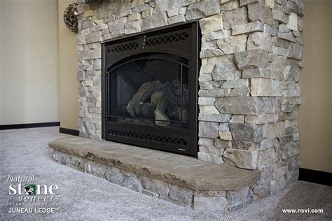 fireplace ledge juneau ledge residential fireplace 2