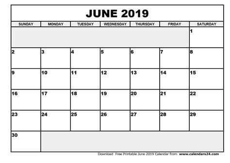 Calendar 2019 July June 2019 Calendar July 2019 Calendar