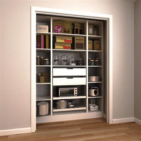 closet shelves lowes idea shelving for pantry closet lowes cabinet door home depot room wood 60 secret shelves