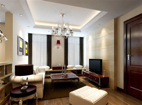 modern living room neo classical furniture 3d house
