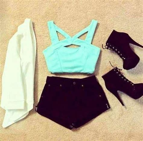 Light Blue Laces Riped Sobek Tembus Renda 66 best bethany mota inspiared crop top images on my style beautiful
