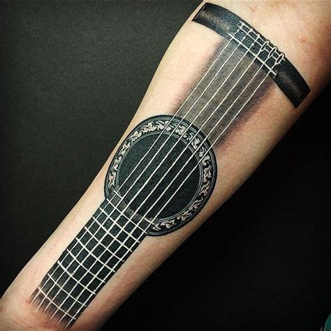 acoustic guitar tattoos 25 best ideas about guitar on small