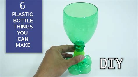 you can make 5 plastic bottle crafts you can make at home diy