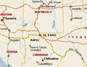 where is el paso on the map el paso map