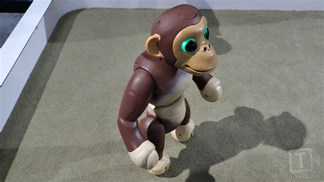 zoomer chimp the zoomer robot chimp stands and balances on two