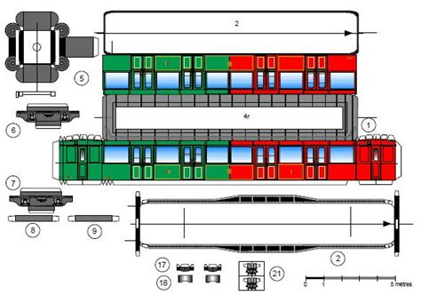 Model Railroad Car Card Template by Papermau Metro S Railcars Paper Models By