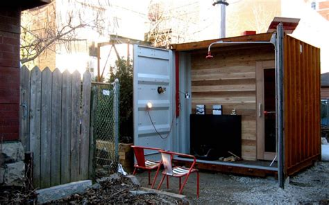 Backyard Storage Solutions Container Homes Shipping Container Home Design Busyboo