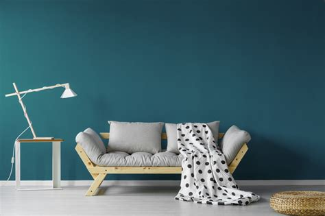 colors  pair  teal   interior design