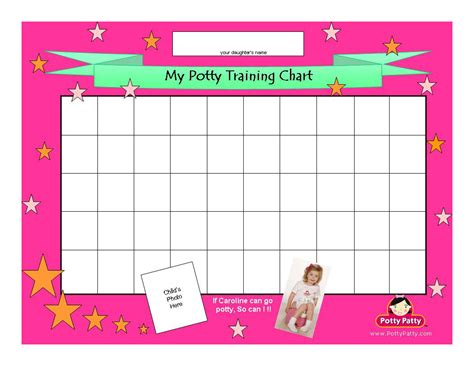 potty reward chart template monthly behavior chart template new calendar template site