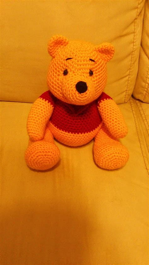 pattern out in spanish amigurumi winnie the pooh free crochet pattern