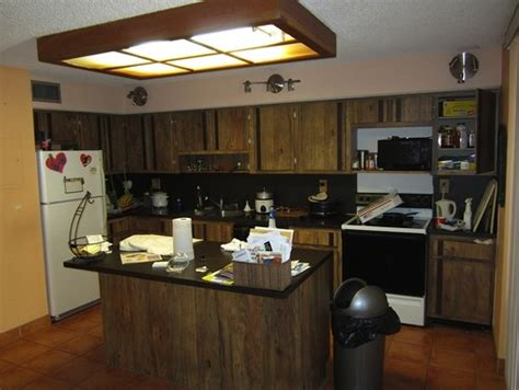 How To Install A Backsplash In A Kitchen how to redecorate this late 70s kitchen on a budget
