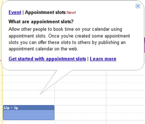 Calendar Appointment Slots Calendar Rolls Out Appointment Slots 404 Tech Support