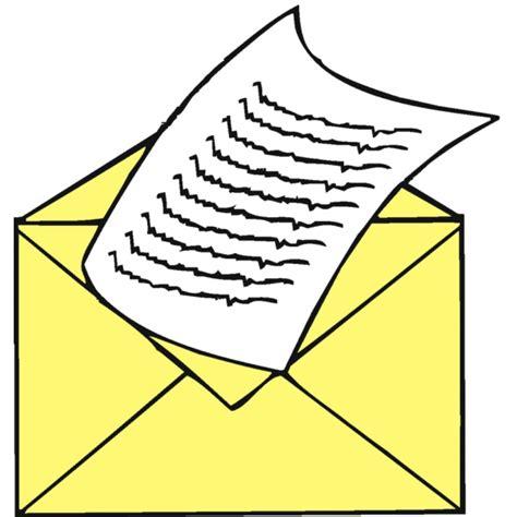 spedire lettere disegno di lettera da spedire a colori per bambini