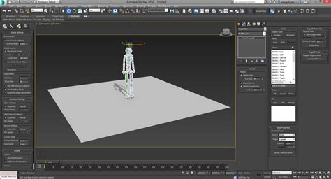 ragdoll 3ds max solved ragdoll issue with massfx autodesk community