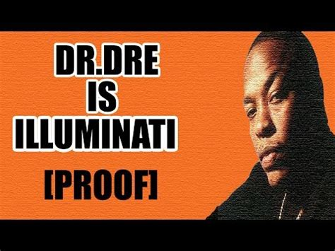 dr dre illuminati dr dre is illuminati proof