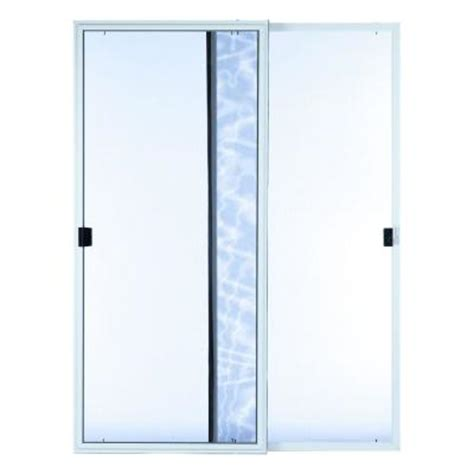 Screen Patio Doors Home Depot Ashworth 70 In X 80 In Professional Series Inswing Patio Door Screen Frsnktwh6068 The