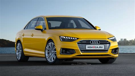 2020 Audi A4 by 2020 Audi A4 Facelift Rendering Is As Subtle As The Real