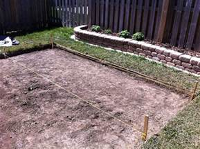 Paver Patio Slope Patio Slope And Level Diy Forums