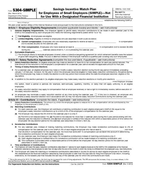 internal revenue code section 408 form 5304 sim edit fill sign online handypdf