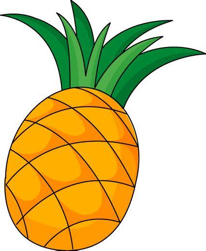 clipart pineapple cartoon pineapple clipart best