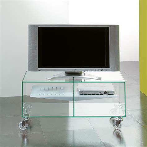 carrello porta tv carrello porta tv lcd in vetro ebox 90 x 40 cm
