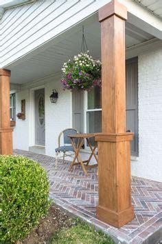 diy craftsman style porch columns craftsman style porch