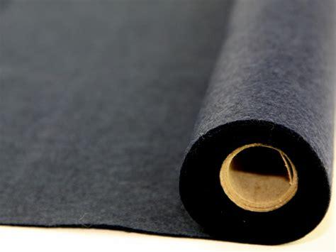Acrylic Bening Per Meter plain acrylic felt fabric mini roll per 5 metre roll
