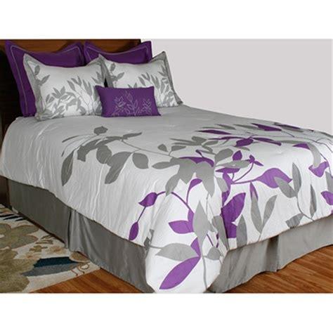 meijer bedding plum leaves comforter set bedroom re do pinterest