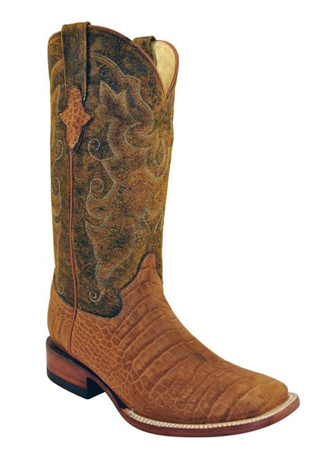 gator boots for ferrini western cowboy boots womens gator suede honey