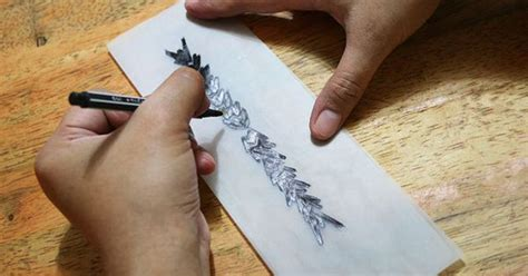 tattoo pen and paper make a temporary tattoo gel ink pens tat and paper