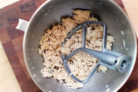 Kitchenaid Maker Recipes This Week For Dinner Shredding Chicken With A Kitchenaid