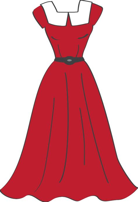 costura e roupas dress png minus felt 2