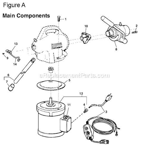 Ridgid K 50 Parts List and Diagram : eReplacementParts.com