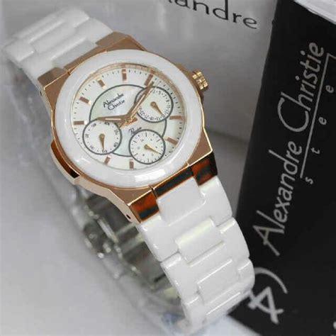 Jam Tangan Alexandre Christie Keramik jam tangan alexandre christie keramik kode acw10 bg wanita