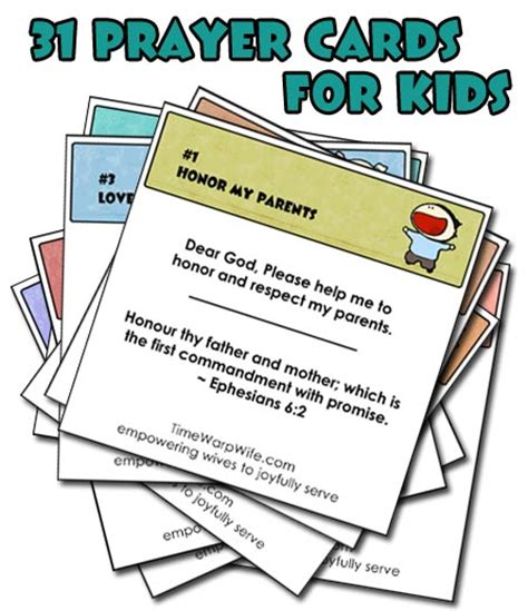 printable postcards for sunday school free printable 31 prayer cards for kids prayer cards