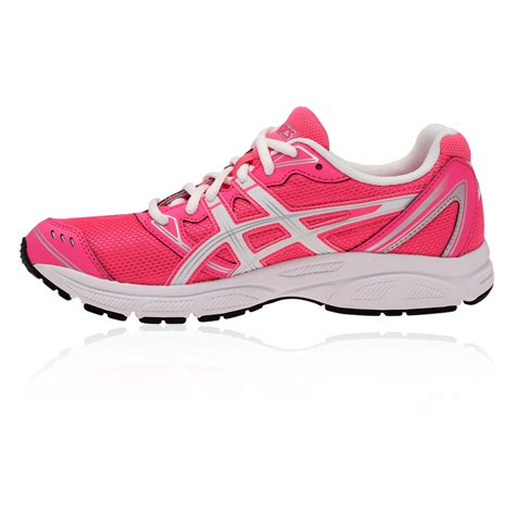 lightest sport shoes asics patriot 6 womens pink white lightweight cushioned