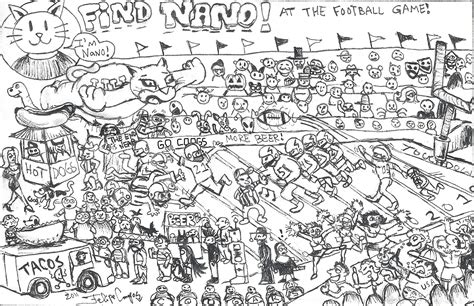 Find Finder Find Nano At The Uh Vs Smu Football The Venture