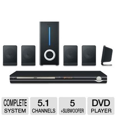 curtis 5 1 channel dvd home theater speaker system