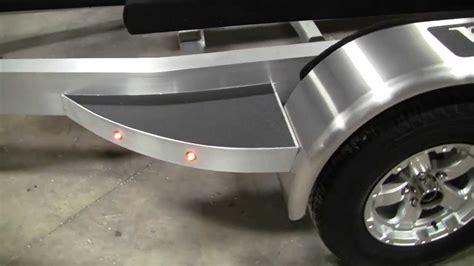 aluminum boat and trailer sport trail custom aluminum trailer 224 blackjack bay