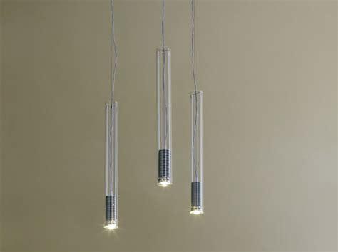 illuminazione a sospensione led lada a sospensione a led tubo led by fontanaarte design