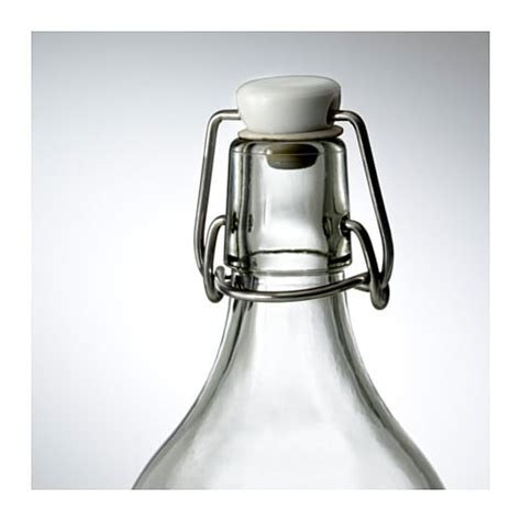 Ikea Korken 0 5 L korken bottle with stopper clear glass 0 5 l ikea