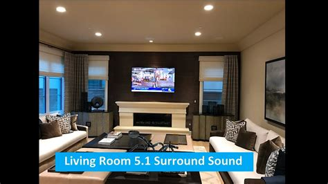 living room sound system living room 5 1 surround sound system youtube