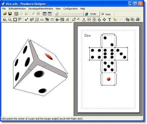 Papercraft Software - pepakura designer