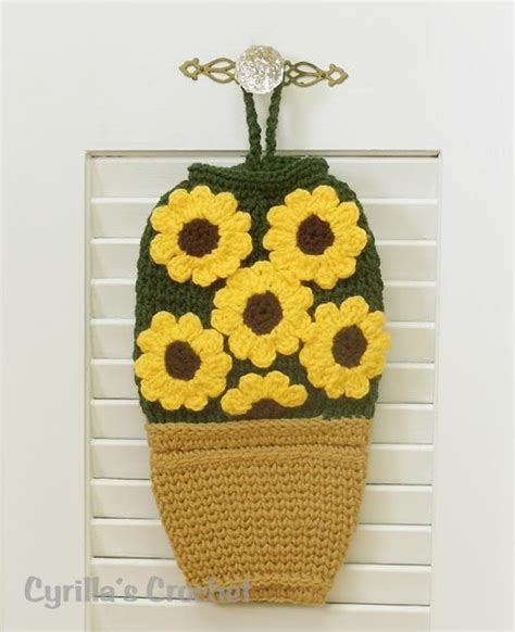 crochet pattern plastic bag holder 17 best images about crochet grocery bag holders on
