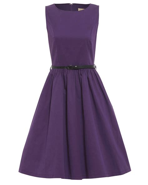 purple swing audrey purple swing dress vintage inspired fashion